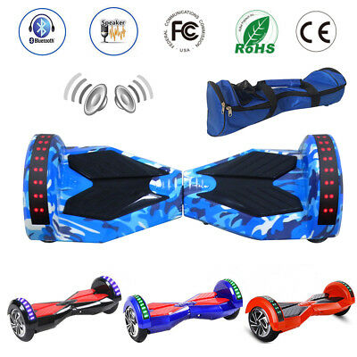 8 INCH SELF BALANCING SCOOTER BLUETOOTH BALANCE BOARD 2 WHEELS ELECTRIC iSCOOTER