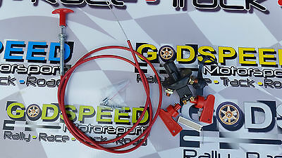 Master Battery Isolator Cut Out/Off Kill Switch & 12FT Pull Cable FIA RACE/RALLY