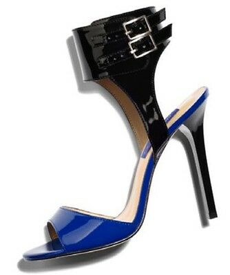 a3444c1a27c Jimmy Choo for H M Blue and Black Stiletto Heels Pumps size 40USA size 9