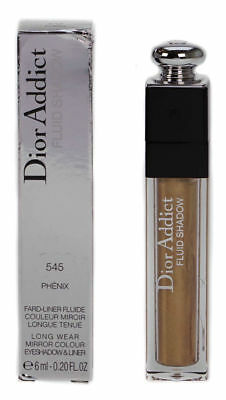 Dior Addict Fluid Shadow Metallic Gold Beige Eyeshadow & Eyeliner 545 Phenix