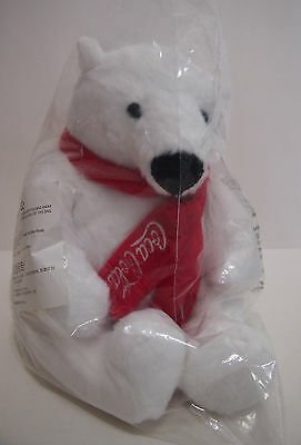 Hong Kong Coca Cola - White Polar Bear 9 Inches Figure Figurine / Model ~ New