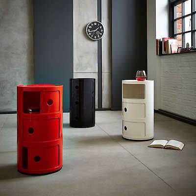 1Pcs Or Pair Of White Bedside Tables With Drawers Cupboard Cabinet Retro Stand