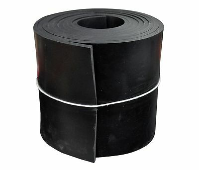 1515-1/4x6x10 Rubber Roll , SBR, 1/4 Th x 6 In W, 10 Ft, Black