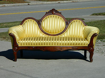 Walnut Victorian Sofa~~Childs~~Salesman Sample