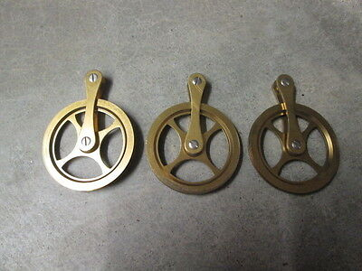 """NOS"" Set of 3 Pulleys for Urgos and other Movements 1 3/4"" round, parts repair"