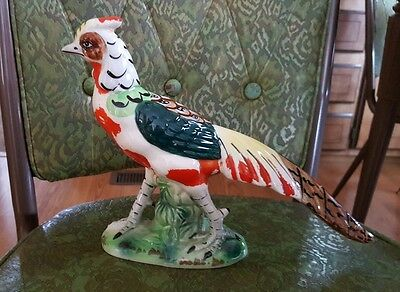 Wales Japan Pheasant or Exotic Bird Porcelain Figurine