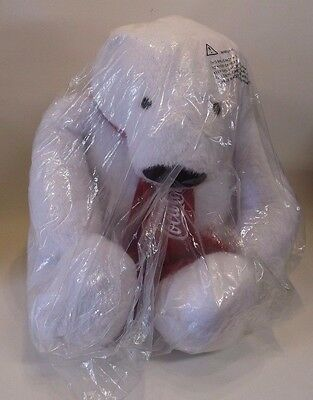 "Giant Coca Cola Bear NEW 24"" Tall Coke Plush Stuffed Teddy Bear In Plastic Bag"