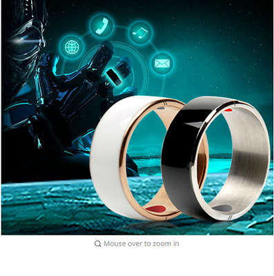 Hot 2017 New! Smart Ring Nfc Android Windows  Phones Id. Reader Writer Copier