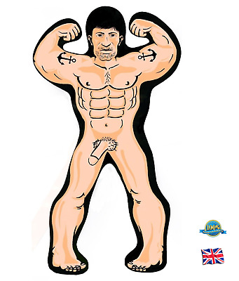 INFLATABLE HUNK MAN 32CM Blow Up Willy Girls Hen Night Stag Party Joke Novelty