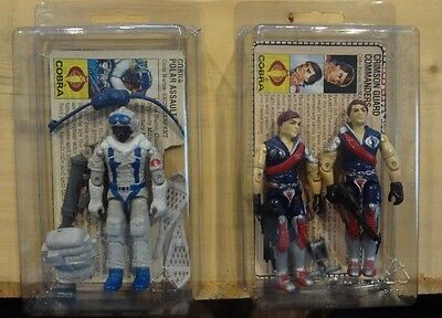 Lot of 10 Medium Protective Cases for Vintage Action Figures GI Joe Star Wars -P