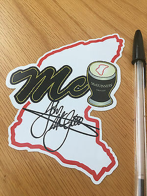 John McGuinness Map Sticker