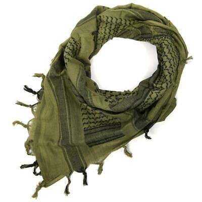 """Rebel Tactical Shemagh Tactical Military Scarf 42""""x42"""" Heavy Weight (OD Green)"""