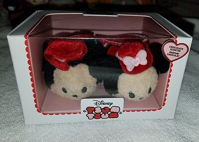 Disney Store Valentine Minnie And Mickey Box Set 2017 Tsum Tsum Plush Mini 3 ½""