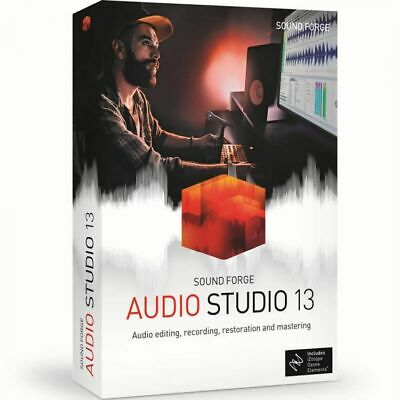 Sound Forge Audio Studio 13 Download Audio Editing Software Sony / Magix *New*