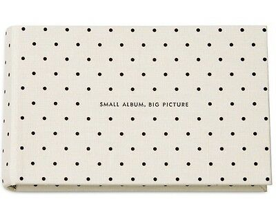 NEW Kate Spade New York Photo Album It all Just Clicked - Holds 80 4x6 Photos