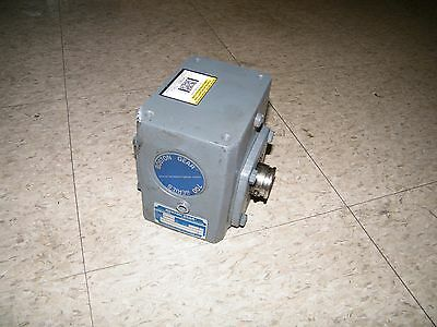 Boston Gear 100 Series Reducer HF715-60-B5-H-P16 Input HP .28 Output 399 lb/in