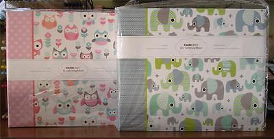 "U Choose} D Ring Scrapbook Photo Album 10pg ~ Little One Boy OR Girl ~ 12"" x 12"""