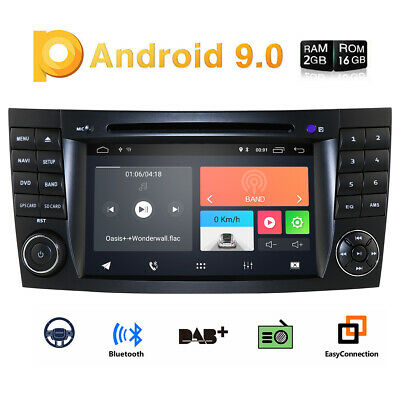 """7"""" HD Car DVD Android 5.1 Quad-Core BENZ E/CLS/G Class W211 W219 W463"""