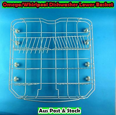 Omega/Whirlpool Dishwasher Spare Parts Lower Rack Basket Replacement (USED) S224