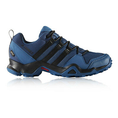 Adidas Terrex AX2R Mens Blue Gore Tex Waterproof Walking Hiking Shoes