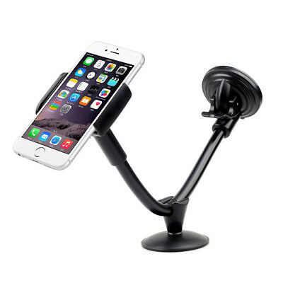 360°Car Windshield Mount Holder Stand for Mobile Phone Tablet GPS iPhone Samsung