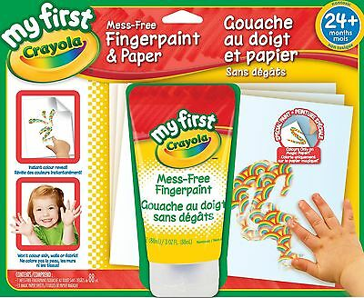 Crayola My First Mess Free Fingerpaint and Paper