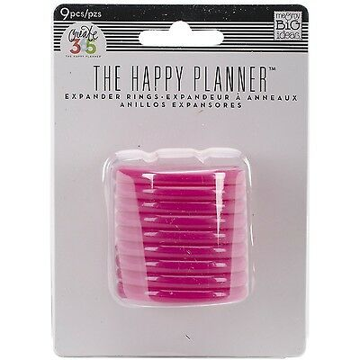 Me and My BIG Ideas RING-03 Create 365 The Happy Planner Expander Rings Pink