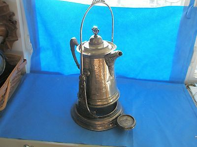 Victorian tilting Water Pitcher with stand