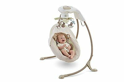 Fisher-Price My Little SnugaMonkey Special Edition Cradle 'N Swing - New Item