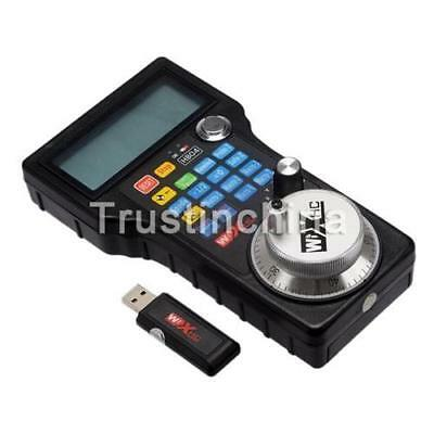 CANADA Wireless Mach3 MPG Pendant LCD Handwheel controller for CNC Mach3 4 axis