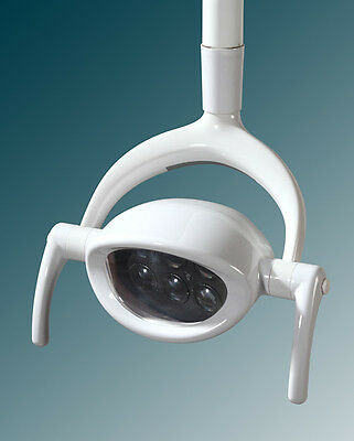 Dental Shadowless Oral Light Lamp P103A with 6 LED Len Dual Color Operation Lamp