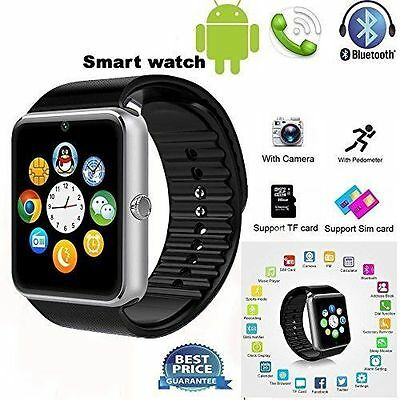 GT08 Bluetooth Smart Wrist Watch GSM Phone For Android Samsung Apple IPhone IOS