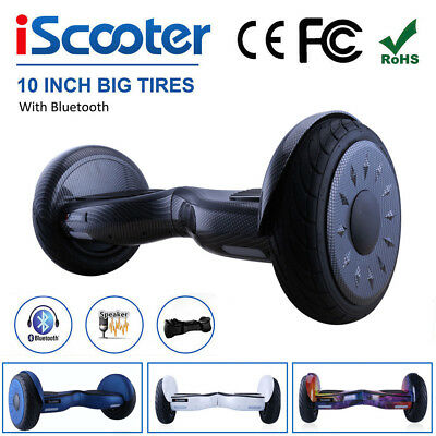 10 INCH Self Balancing Scooter Electric 2 Wheels Balance Board Bluetooth UK