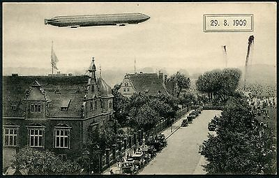 Germany (252) Airship Luftshiff Graph Zeppelin Berlin Collection Pc Vf Unused