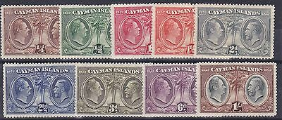 Cayman Is  1932  Centenary Set To 1/-   Mh
