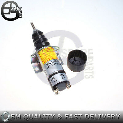 New Solenoid 1502-12C2U1B2S1 for Woodward Solenoid 1500-2010 15002010 12V 1502