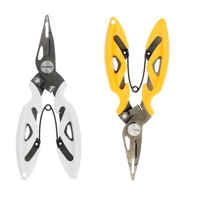 Fishing Plier Scissor Braid Line Cutter Hook Remover Clipper Tackle Tool