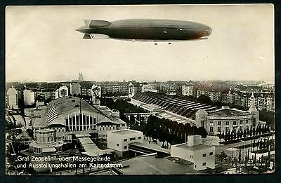 Germany 1928 Airship Luftshiff Graph Zeppelin  Berlin Collection Pc Vf Used