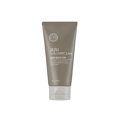 [THE FACE SHOP] Jeju Volcanic Lava Peel Off Clay Nose Mask 50g / Korea Cosmetic