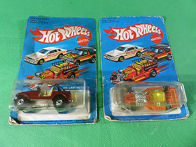 Hot Wheels 3259 Jeep Cy-7 + 3260 Land Lord - 1980er Jahre -   Ladenfund - NOS