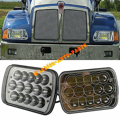 For Kenworth T300 LED Headlights Headlamps High/Low Beam Bulb Kit 1997-2010 2PCS