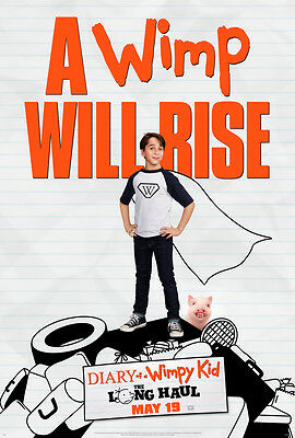 New Original Diary of a Wimpy Kid The Long Haul 27x40 Double Sided Movie Poster