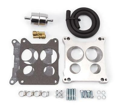Adapter Platte Manifold to Quadrajet Edelbrock #2697