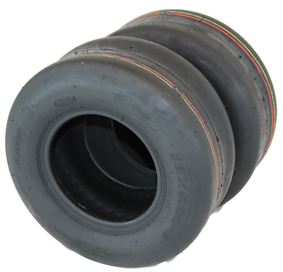 Set of 2 New 13x5.00-6 Turf Tires for Lawn and Garden Mower ** FREE SHIPPING **