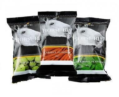 3 x Packs Of Lincoln Horse Pony Treats Apple Carrot Peppermint 150g Bags Equine