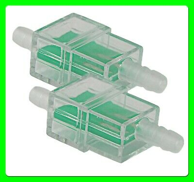 * Pack of 2 * 6 mm Motorbike Fuel Filter Universal Square [FFTSQ] Motorcycle