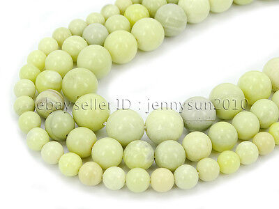 Natural Australia Butter Jasper Gemstone Round Beads 15.5'' 4mm 6mm 8mm 10mm
