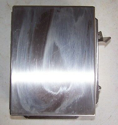 Hoffman A8064CHNFSS Stainless Steel Nema 4X Electrical Enclosure