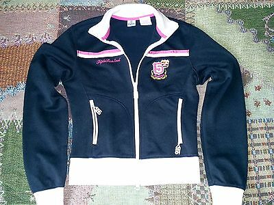 Black Triple Five Soul Women's Tracksuit With White Trim Size S VERY RARE!