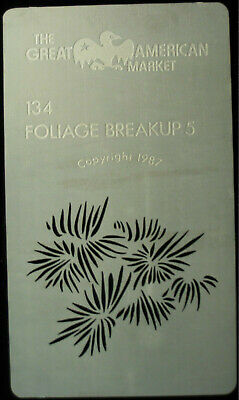 "Gobo template Mini pattern - GAM 134 ""Foliage Breakup 5"""